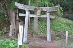 筏隊山神社①