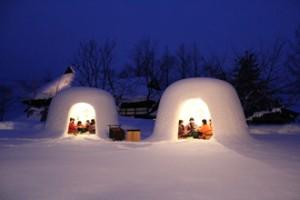 木戸五郎兵衛村(冬)